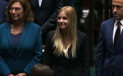 Aleksandra Gajewska złożyła ślubowanie w Sejmie