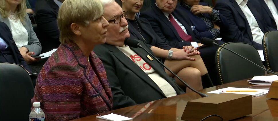 Wałęsa w Izbie Reprezentantów: jedna epoka upadła, druga nie powstała