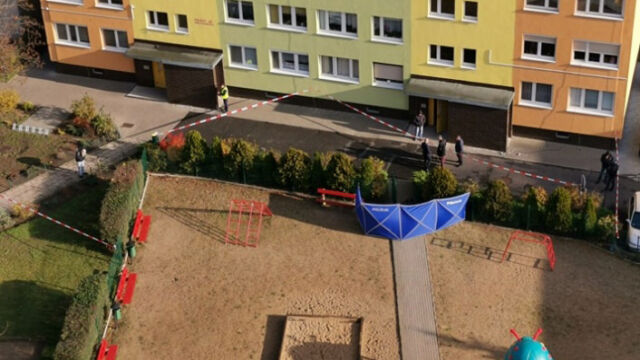 The tragic incident took place in one of the residential neighbourhoods in Konin
