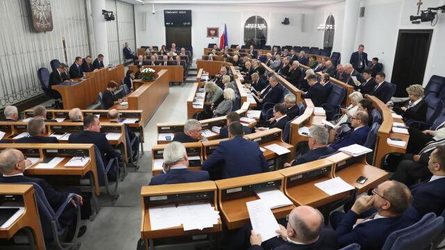 Senat powołał komisje i wybrał ich przewodniczących