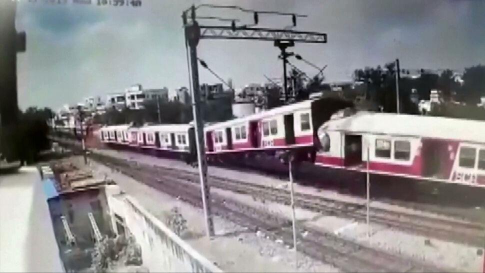 Czołowe zderzenie pociągów uchwycone przez kamery. Kilkunastu rannych