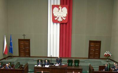 Macierewicz: w poprzedniej kadencji Sejmu przeprowadzono fundamentalne zmiany w sprawach społecznych, gospodarczych i historycznych