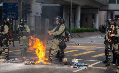 Protesty w Hongkongu. Gaz łzawiący w centrum i na kampusie