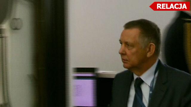 Marian Banaś przyjechał do Sejmu