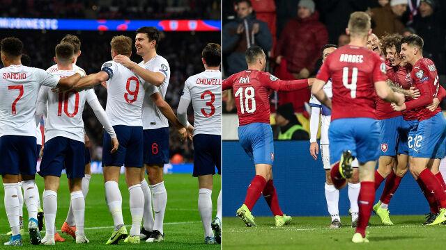 Anglicy i Czesi świętują. Też jadąna Euro