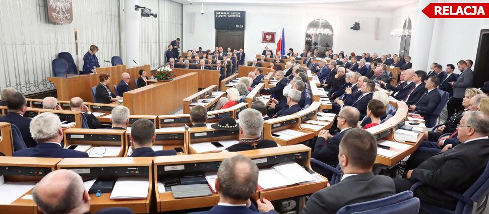 Grodzki kontra Karczewski.  Głosowanie imienne w Senacie