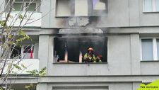 Pożar na warszawskiej Woli, nie żyje jedna osoba