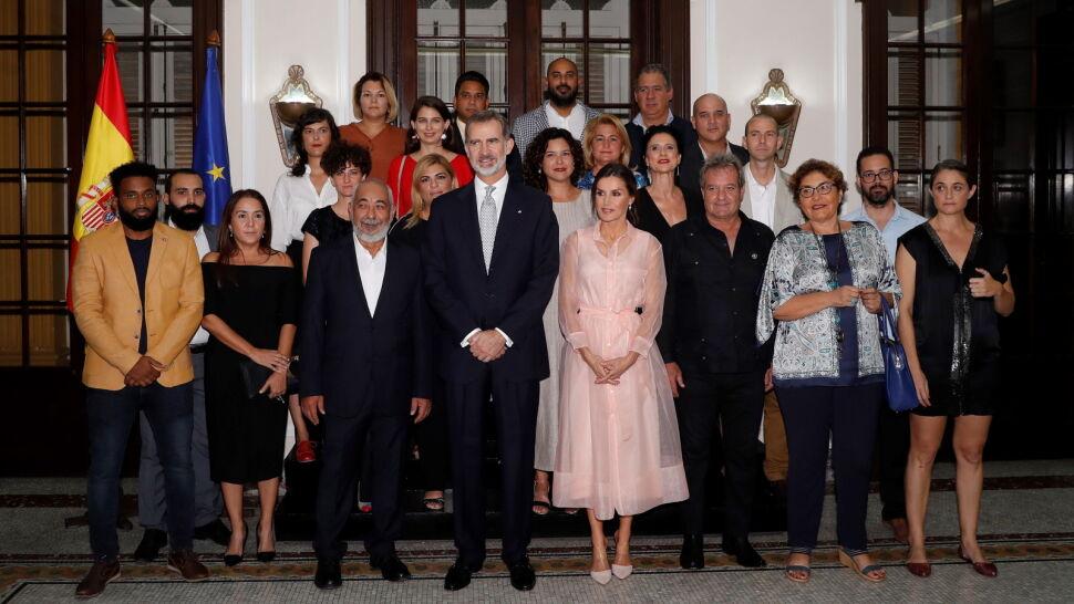 """Król Hiszpanii chwalił demokrację w czasie wizyty na Kubie. """"Nieuniknione są zmiany"""""""