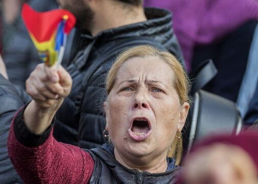 Manifestacja w obronie szefowej mołdawskiego rządu