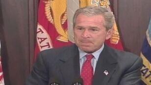 Bush: Zobacz, jest tu Adam Clymer, ten wielki dupek z