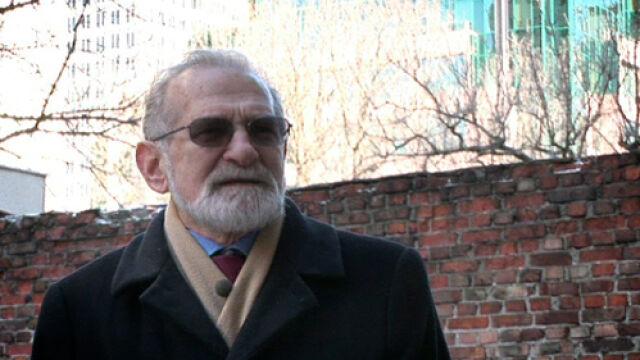Ś.p. Bornisław Geremek wspominał spacery z Markiem Edelmanem po terenach getta warszawskiego