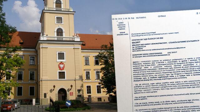 Hiszpanie mają wydać Polsce swojego obywatela. Pytają o niezależność sędziów