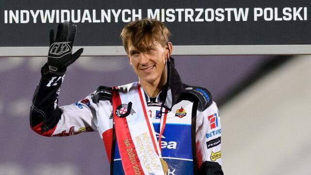 Maciej Janowski mistrzem Polski na żużlu. Wygrał w wielkim stylu