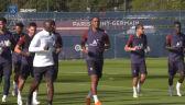 Trening PSG przed starciem z Lens