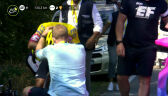 Łzy Higuity. Kolumbijczyk wycofał się po kraksie na 15. etapie Tour de France