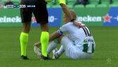 Uraz Robbena w pierwszym meczu po powrocie z emerytury