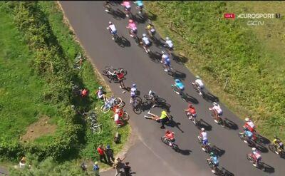 Kraksa na 13. etapie Tour de France, Mollema wycofał się