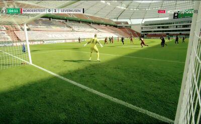 Puchar Niemiec. Norderstedt - Bayer Leverkusen 0:1. Gol Lars Bender