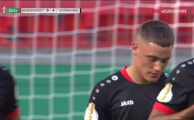 Puchar Niemiec. Norderstedt - Bayer Leverkusen 0:4. Gol Florian Wirtz