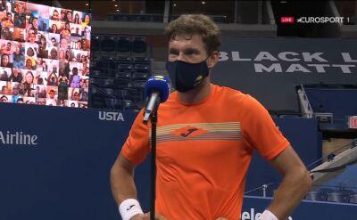 Carreno-Busta po awansie do półfinału US Open