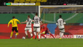 Puchar Niemiec. Borussia Dortmund – Paderborn 2:0. Gol Jadon Sancho