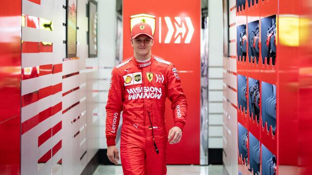 Były rywal Schumachera: będę szczęśliwy, jeżeli jego syn dostanie się do F1