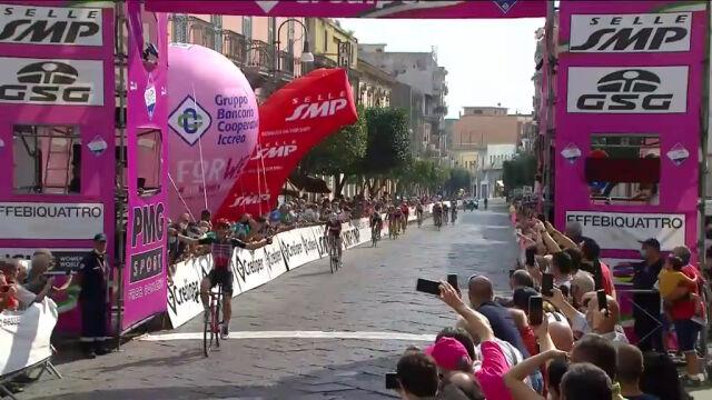 Kopecky wygrała 7. etap Giro Rosa, upadek liderki wyścigu
