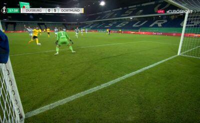 Puchar Niemiec. Duisburg - Borussia Dortmund 0:5. Gol Marco Reus