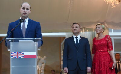 Prince William: Poland a token of courage and determination