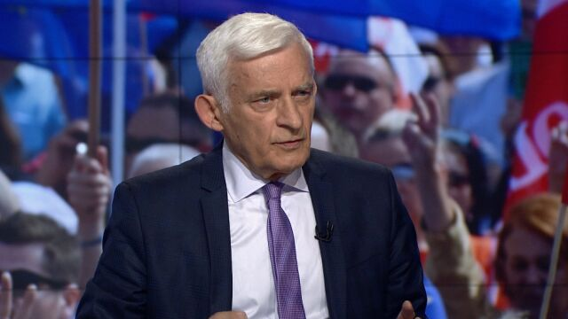 """Jerzy Buzek w """"Faktach po Faktach"""""""