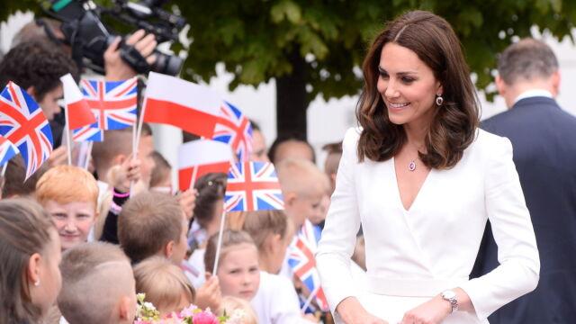Książęcy spacer po Trakcie Królewskim. Tłumy witały Williama i Kate