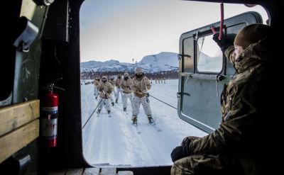 Amerykańscy marines w Norwegii