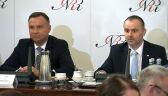 Paweł Mucha przedstawił propozycje pytań