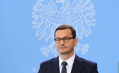 Morawiecki: potępiam to chuligańskie, agresywne zachowanie, które mieliśmy okazję zaobserwować