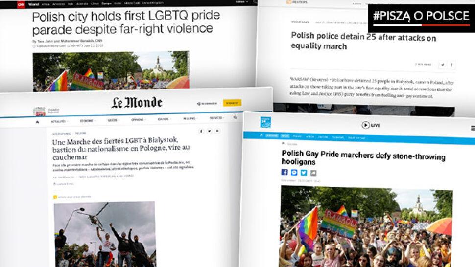 """""""Prawa LGBT stały się jedną z kluczowych kwestii w nadchodzących wyborach"""". #PisząoPolsce"""