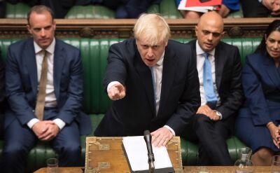 Boris Johnson o umowie z Brukselą