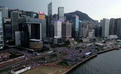 """Zdaniem MSZ Chin za rozruchami w Hongkongu stoją """"zewnętrzne siły"""""""