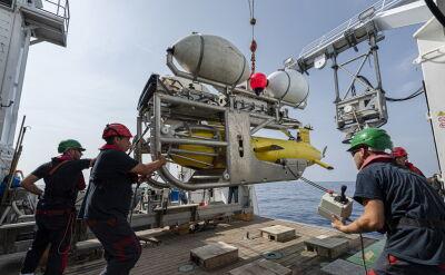 Zespół poszukiwawczy odnalazł okręt podwodny Minerwa