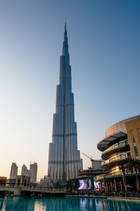 Burdż Chalifa to obecnie największa atrakcja Dubaju