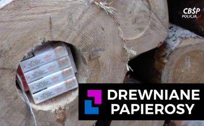 Drewniane papierosy