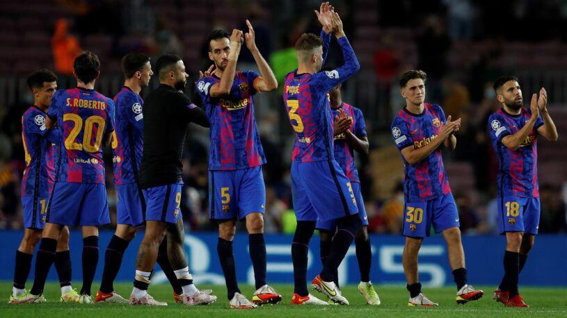 Pierwszy gol i pierwsze punkty. Barcelona przełamała się w Lidze Mistrzów