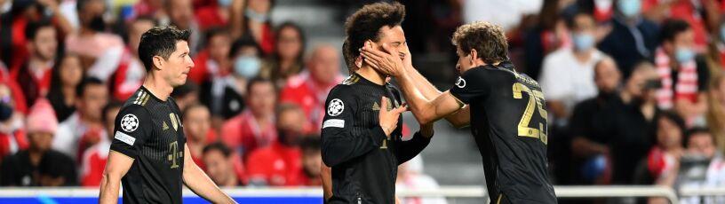 Kapitalna druga połowa Bayernu.  Lewandowski poprawił dorobek w Lidze Mistrzów