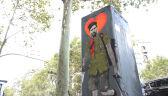 Messi na graffiti w Barcelonie. Argentyńczyk przedstawiony jako rewolucjonista