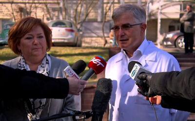 Anna Komorowska odwiedziła rannych