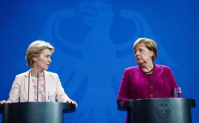 Ursula von der Leyen spotkała się z Angelą Merkel