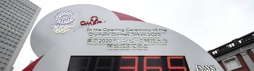 Kolejne odliczanie do igrzysk w Tokio.