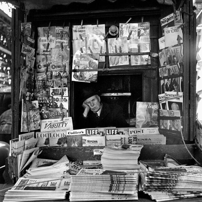 "Zdjęcie Vivian Maier - ""March 1954. New York, NY"""