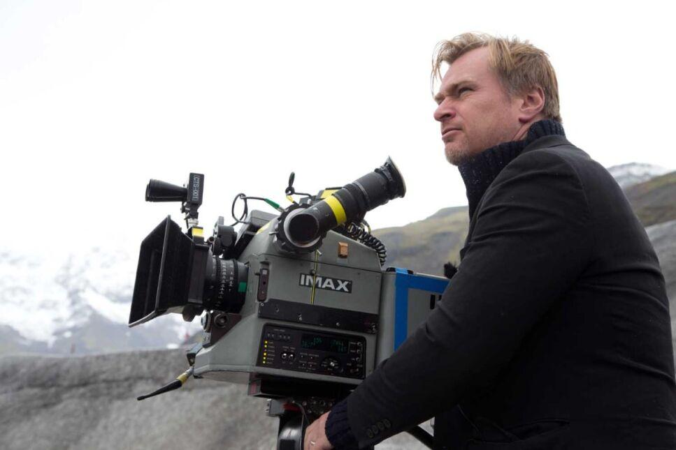 """Christopher Nolan na planie filmu """"Interstellar"""""""