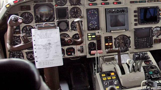 Kobiecy głos w kabinie pilotów