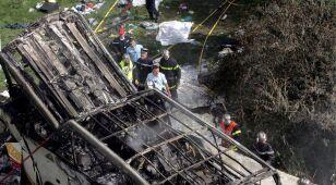 Zidentyfikowano dwie ofiary wypadku pod Grenoble